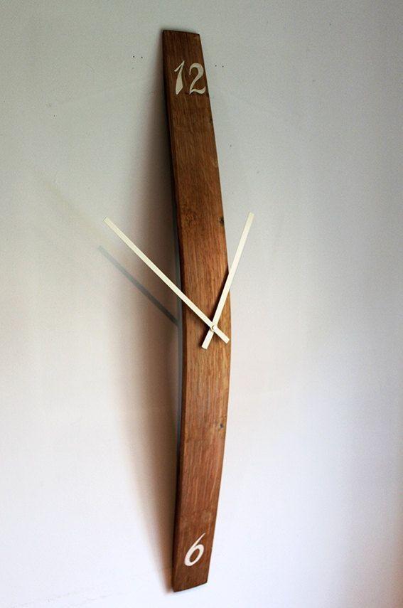 ساعة خشبية -كود:CL-014