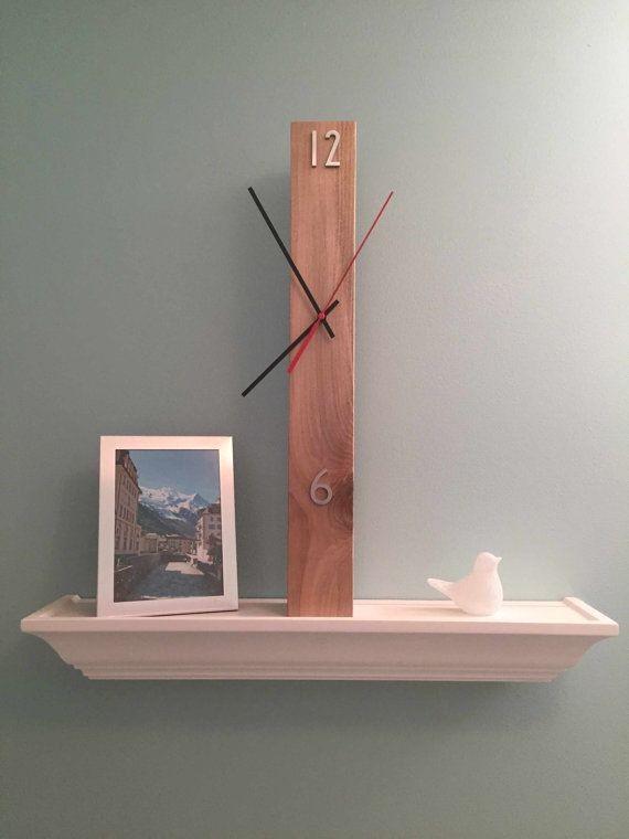 ساعة خشبية -كود:CL-015