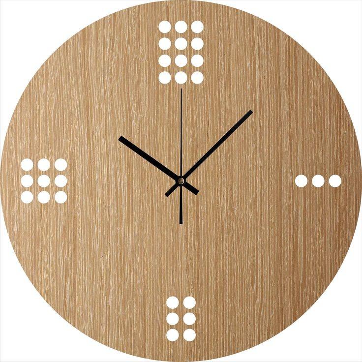 ساعة خشبية - كود: CL-005
